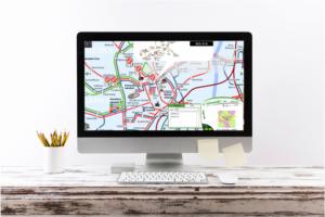 Interaktivní plán dopravy města Brno